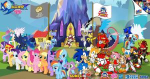 Sonic and My Little Pony : Hero never dies by trungtranhaitrung
