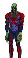 The Manhunter from Mars Redesign by toekneearrows