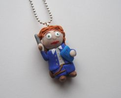 River Song - Doctor Who Necklace by RavenMedia