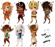Collab Satyr Adopts by etherai
