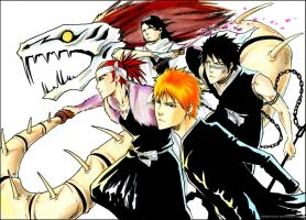 BLEACH: Shinigami squad by Sideburn004