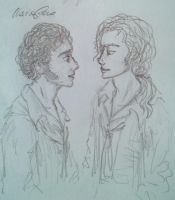 Enjolras and Grantaire by HeeLash