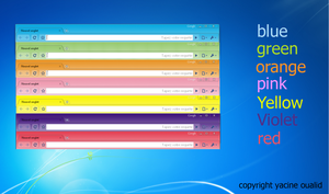 all color google chrome by yacine29