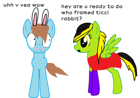 Ticci Rabbit And Jasacca Ke by jraliceawesomness