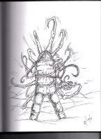The Thing Assimilation by thewickedrobot