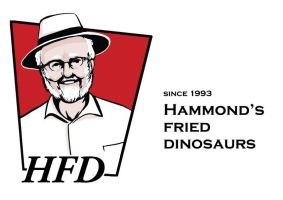 Hammond's fried dinosaurs by poperart