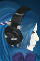 Music in Blue by iHoshiko