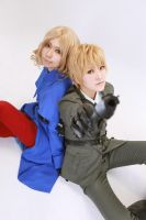 Hetalia:UK and France 4 by azuooooo