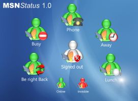 MSN Status 1.0 by 7amZa