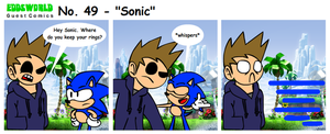 EWGUESTCOMIC No. 49 - Sonic by SuperSmash3DS