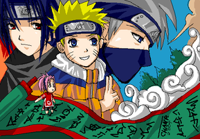 Team Naruto Contest Entry+ by ChanpART