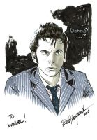 Doctor 10th sketch by elena-casagrande