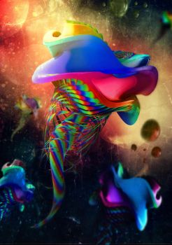 Abstract 3D #10 by senon