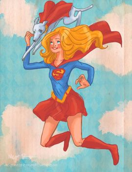 Supergirl by Megalosaurus