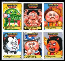 GPK Flashback sketch cards 2 by DeJarnette