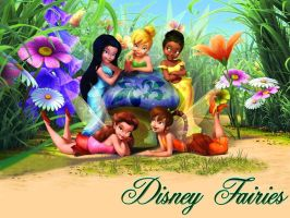 Disney Fairies by Reme-Arroyo