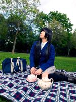 Mio from K-On: All alone at the picnic... by SNTP