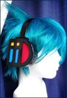 Mikuo headphones by egomotion