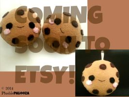 Kawaii Cookie Plushie (COMING SOON TO ETSY!) by PlushiePalooza