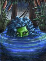 Swamp Monster by TheDayIsSaved
