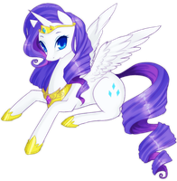 Alicorn Rarity by Raidiance