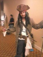 Captain Jack Sparrow At Kumoricon 2013! by hapshetsut