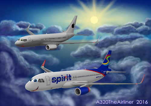 Willie and Mac (for MacThePlaneh) by A320TheAirliner