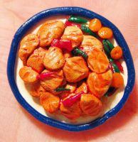Sweet and sour chicken - clay by SarahRose