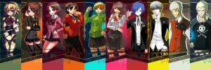 Persona 3 and 4 Bookmark Set by Kouken