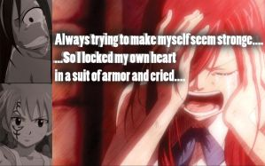 Erza quote by Xela-scarlet