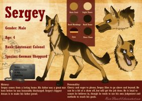 Sergey Ref Sheet by x-RainFlame-x