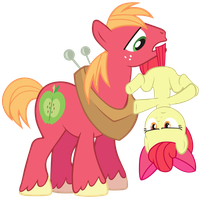 Stop there Apple Bloom!! by KurosakiSoarin