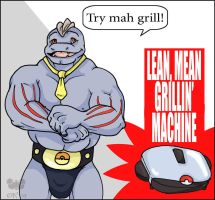 Lean Mean Pokemon Machine by therealbloodhound