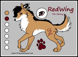 RedWing the Wolf by Shinx07