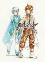 Sacanime Commission - Sorey x Mikleo by jojostory