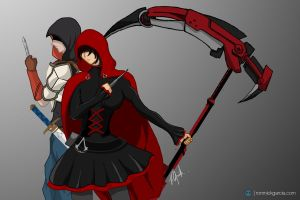 RWBY x ASSASSIN'S CREED by patgarci