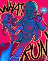 Doctor Who- RUN! by RavenNoodle