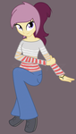 Lannie Lona - Equestria Girls - Casual Wear by SJArt117