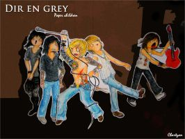 DIR EN GREY. by Chartzan