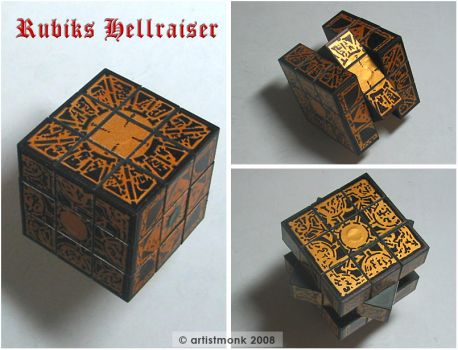 Hellraiser Puzzle Cube by artistm0nk
