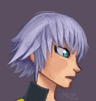 KH: Riku side profile by Alias-Hugo
