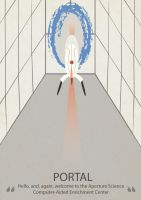 Portal creative poster by McFlynder