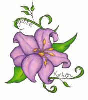 Tattoo Lily by Pearly-Gates