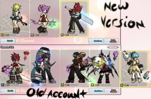 My Elsword Account by Kenji42