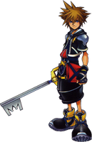 Anime render 3 (Sora of KH) by Fujisakiro31