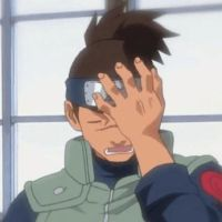 Naruto Face Palm GIF (click to view) by SpringSonata