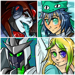 Icon and Art Set 9 by LittleSocket