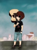 guitar ~~ by anph93