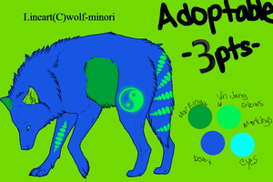 Adoptable 3points -open- by miyumicat