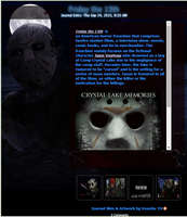 Friday the 13th Journal Skin by Venetia-TH
